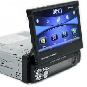 Автомагнитола 1DIN MP-5 7123 с выдвижным сенсорным экраном 7 дюймов, магнитола в авто,