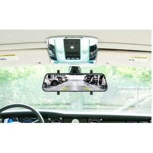 Зеркало-экран-регистратор + камера з/х LESA  Т17