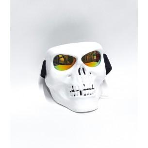 Маска-череп белого цвета