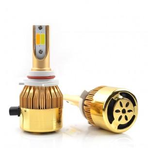 Автолампы LED CS-9006 Белый/Желтый