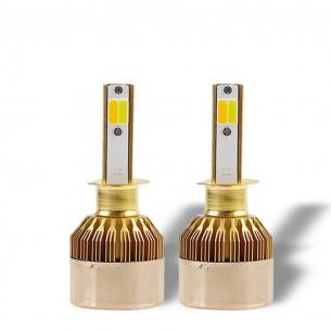 Автолампы LED CS-Н-1 Белый/Желтый